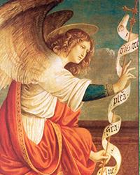 Archangels St  Michael, St  Gabriel and St  Raphael - The