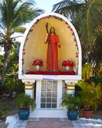 Jesus image at Koyari