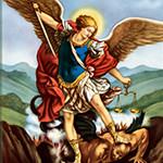 Archangels St. Michael, St. Gabriel and St. Raphael